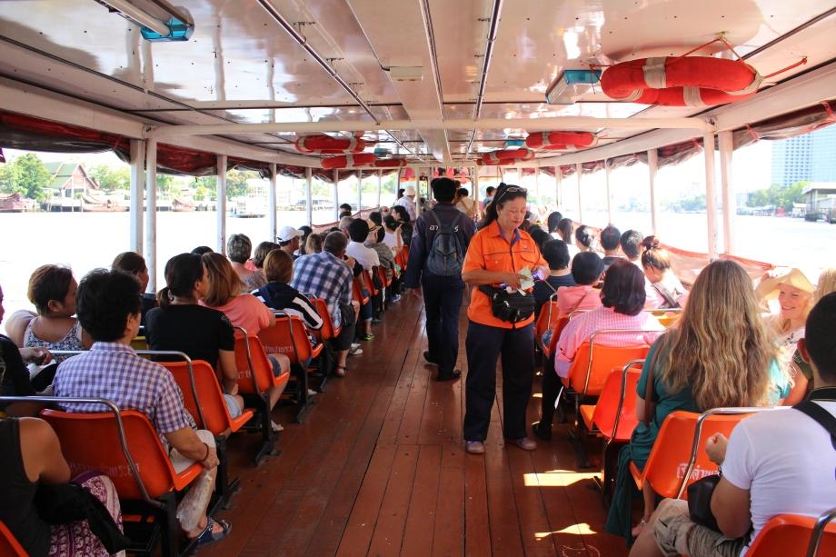 Bangkok Chao Phraya ferry