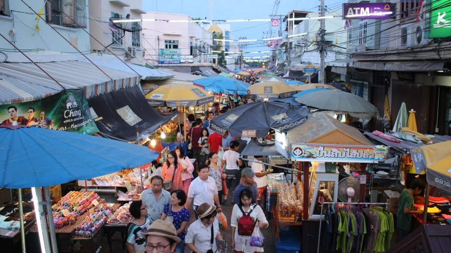 Travel Bangkok Amphawa floating market food