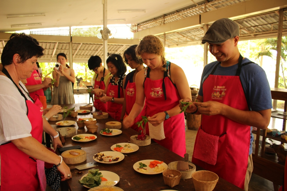 Travel Chiang Mai Thailand cooking school