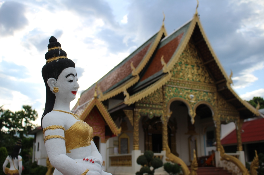 Travel Thailand Chiang Mai temple
