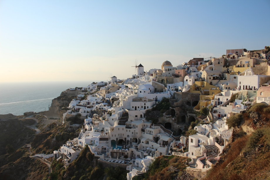 santorini travel wanderlust